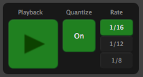 Playback and quantization parameters